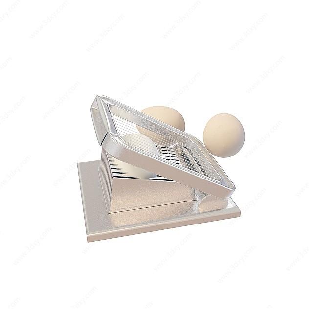 切蛋器3D模型