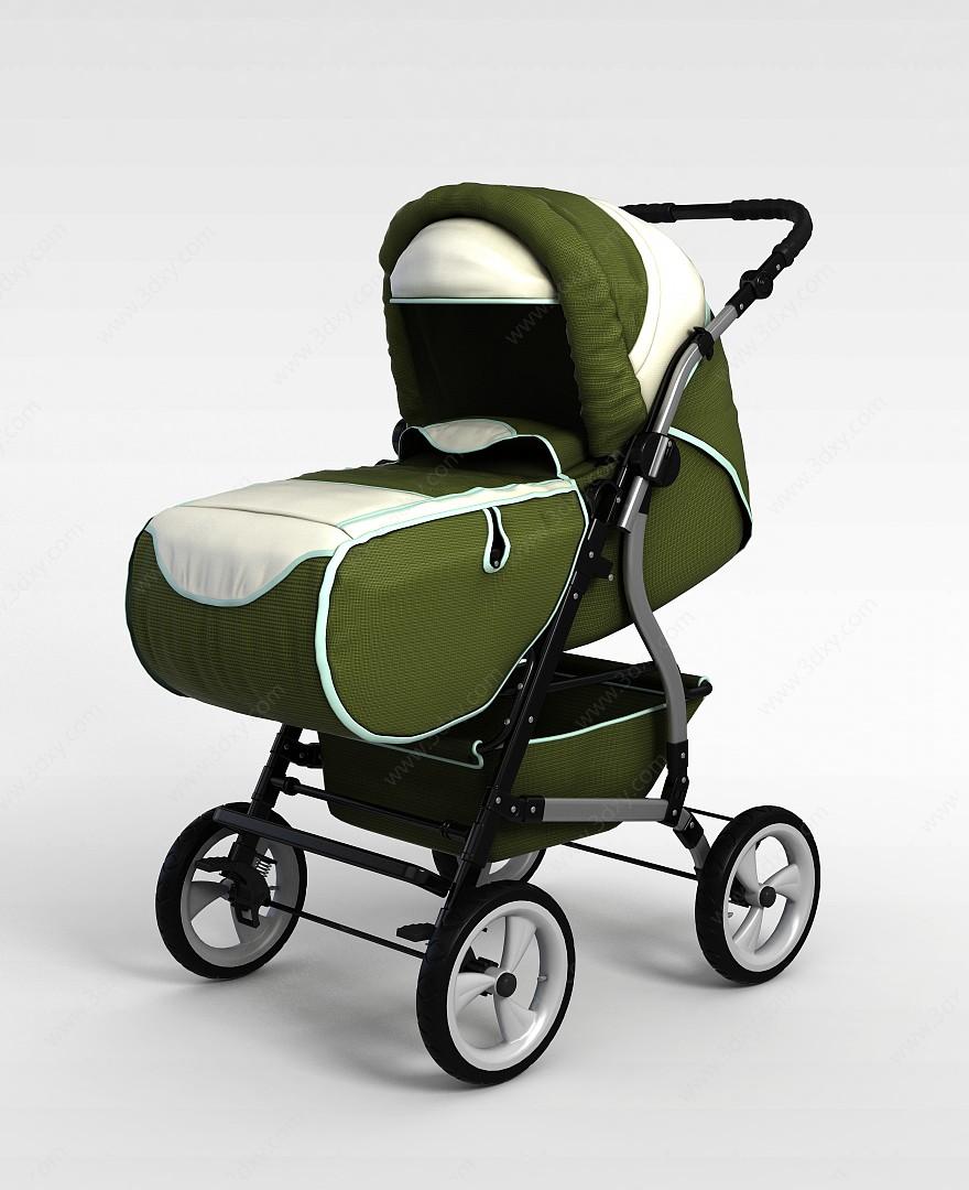 可折疊嬰兒車