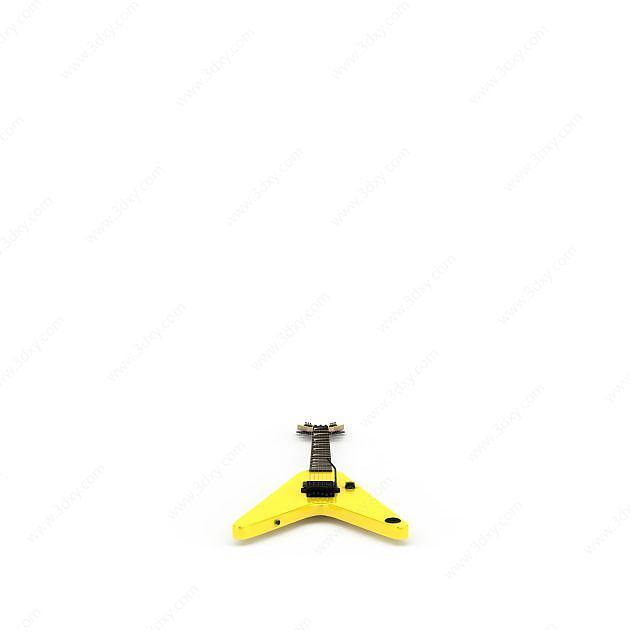黃色電吉他
