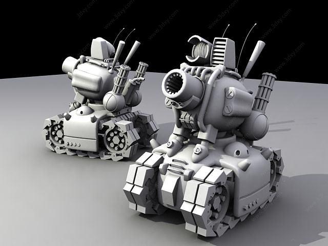 合金彈頭中的小坦克