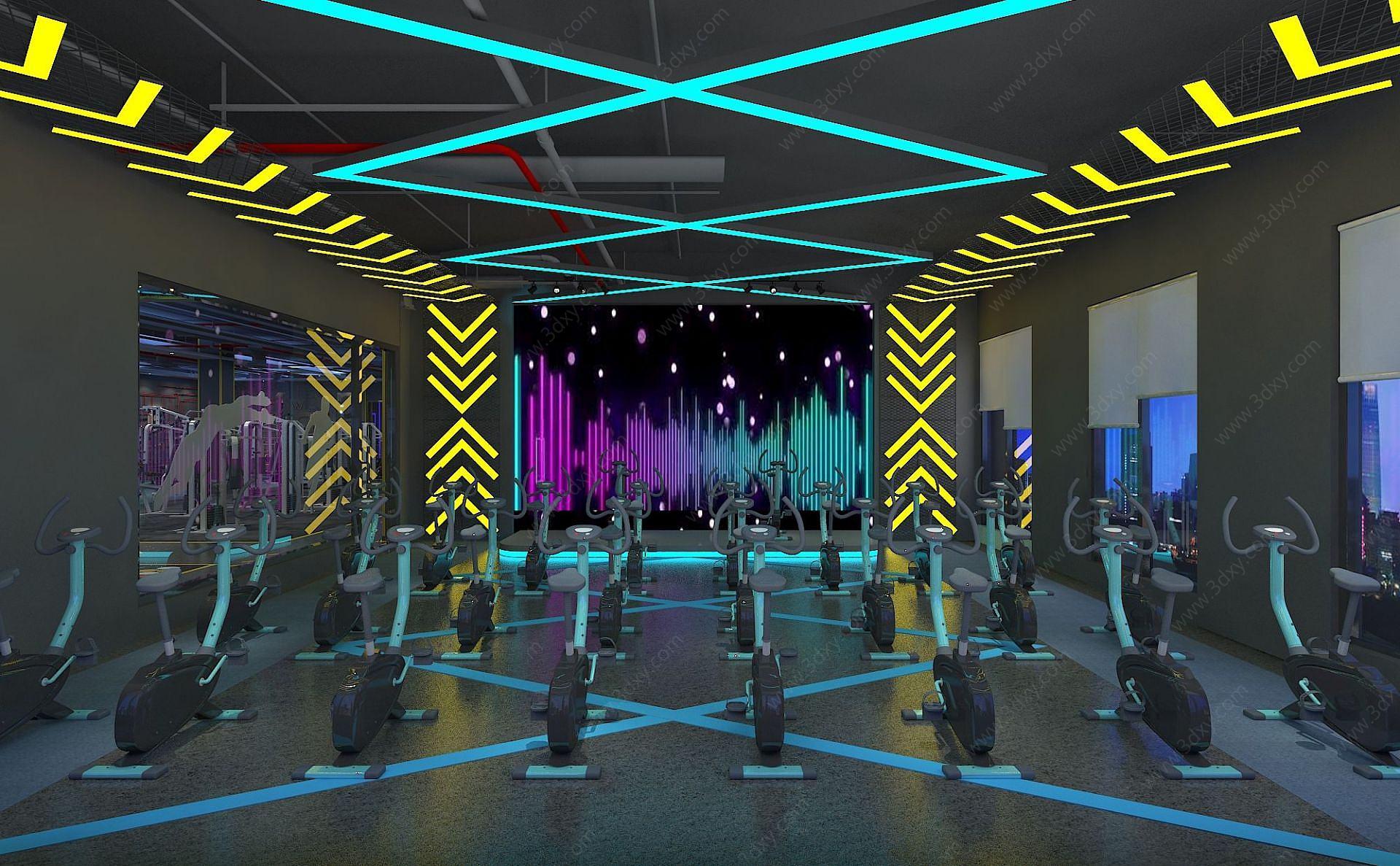 動感單車房健身房