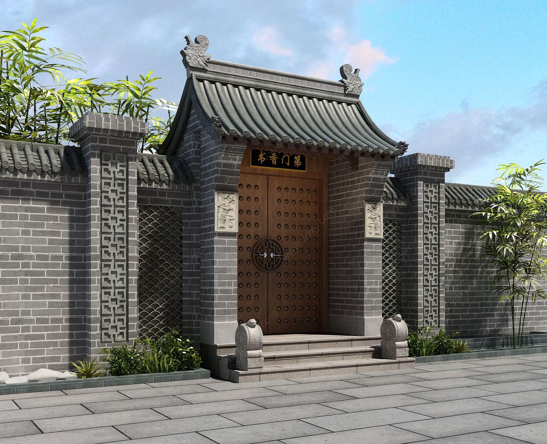 門頭庭院古建
