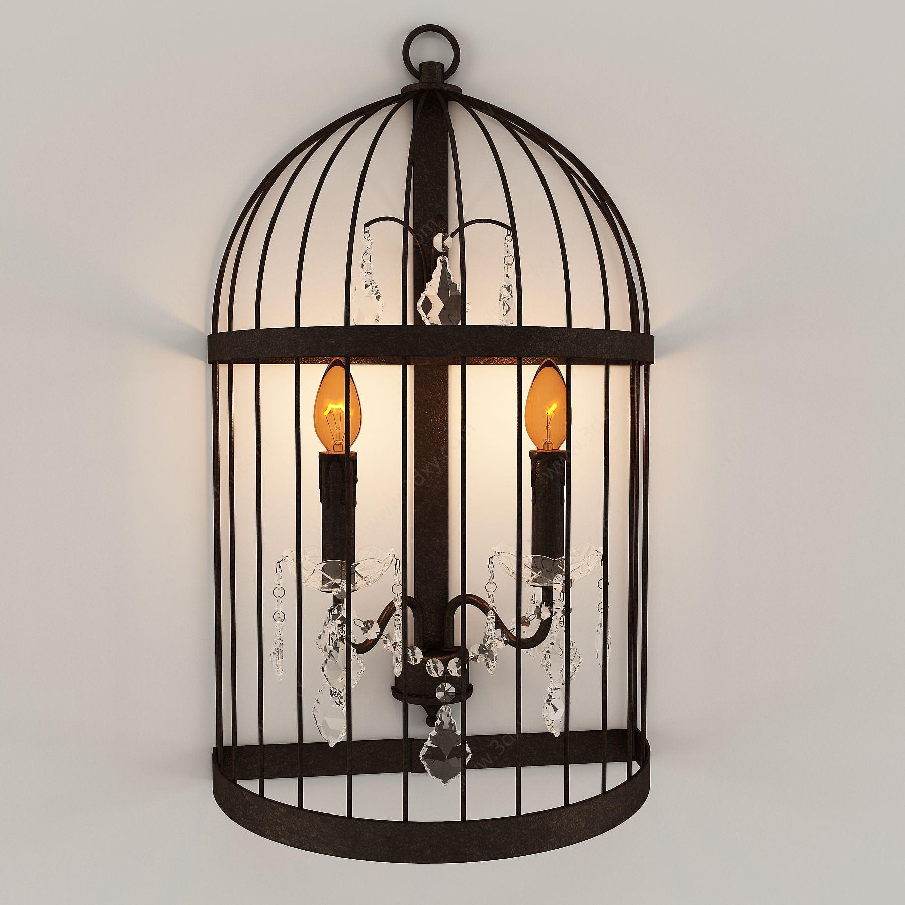 復古鐵藝壁燈