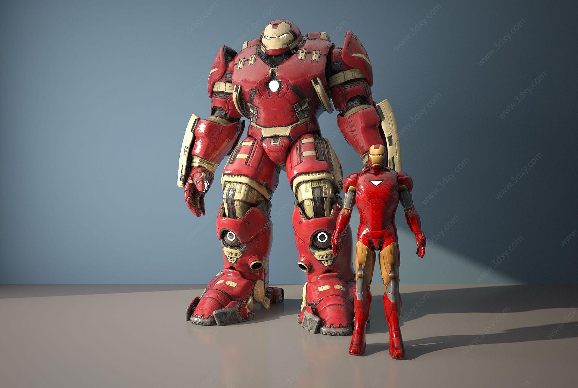 鋼鐵俠3D模型