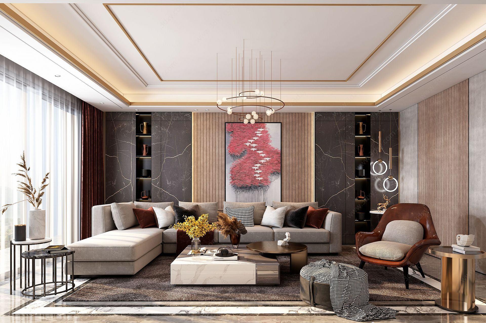 后現代客廳