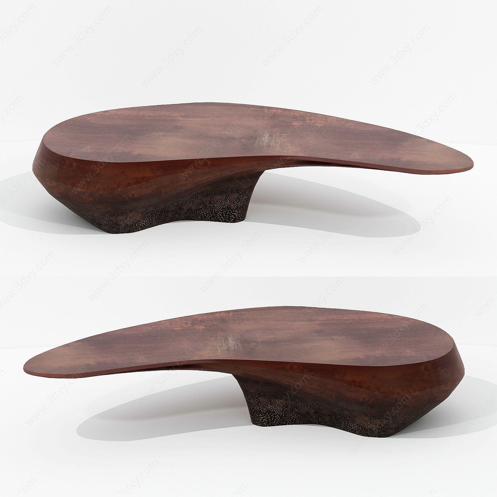 現代設計不規則茶桌休閑桌