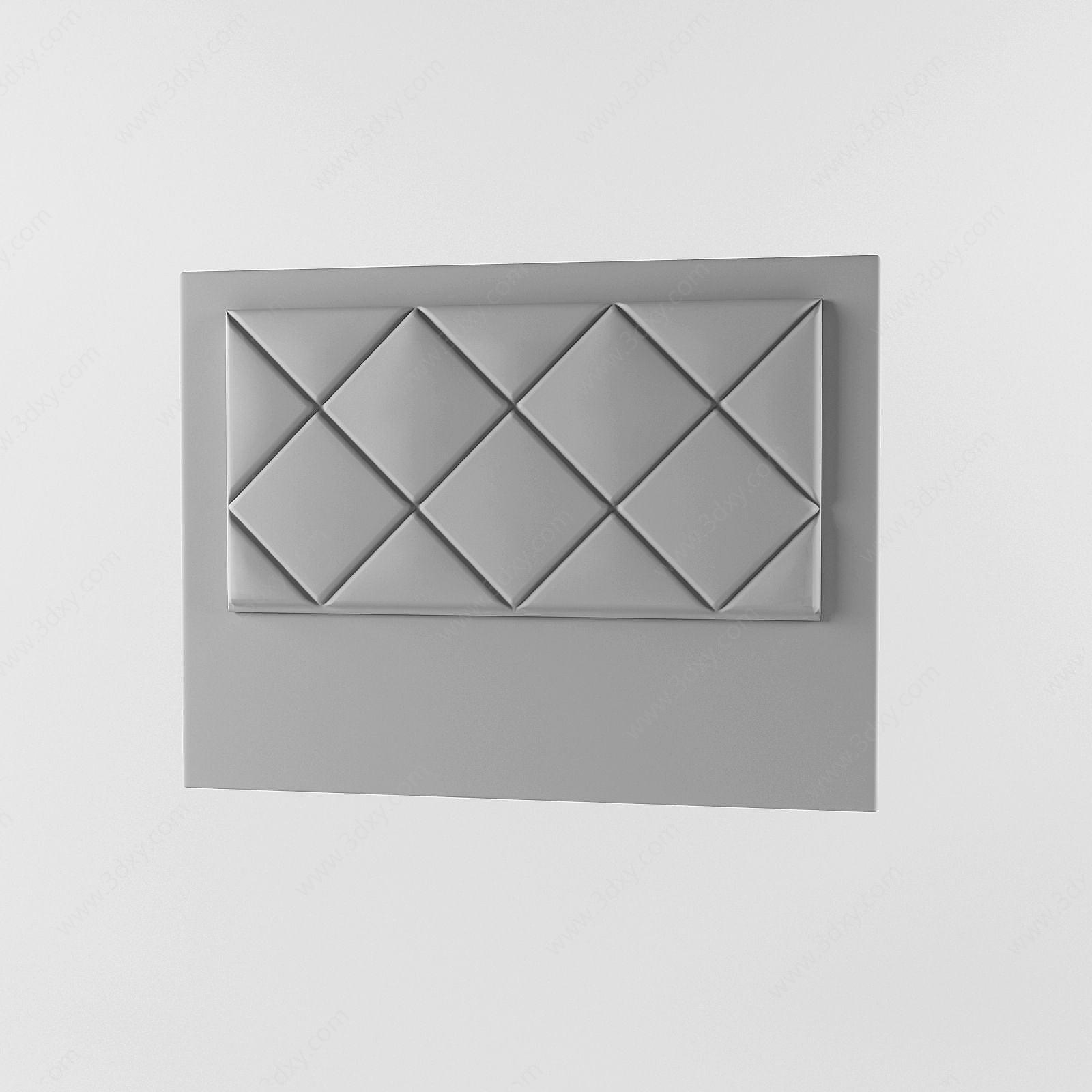 現代面包式床頭板