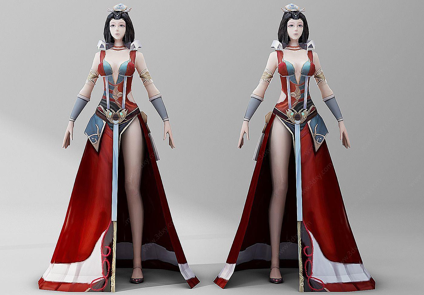 人物3D模型