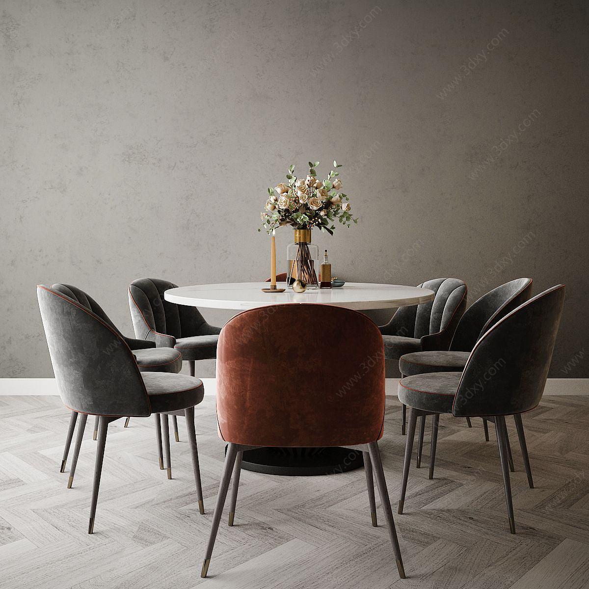 現代風格餐桌