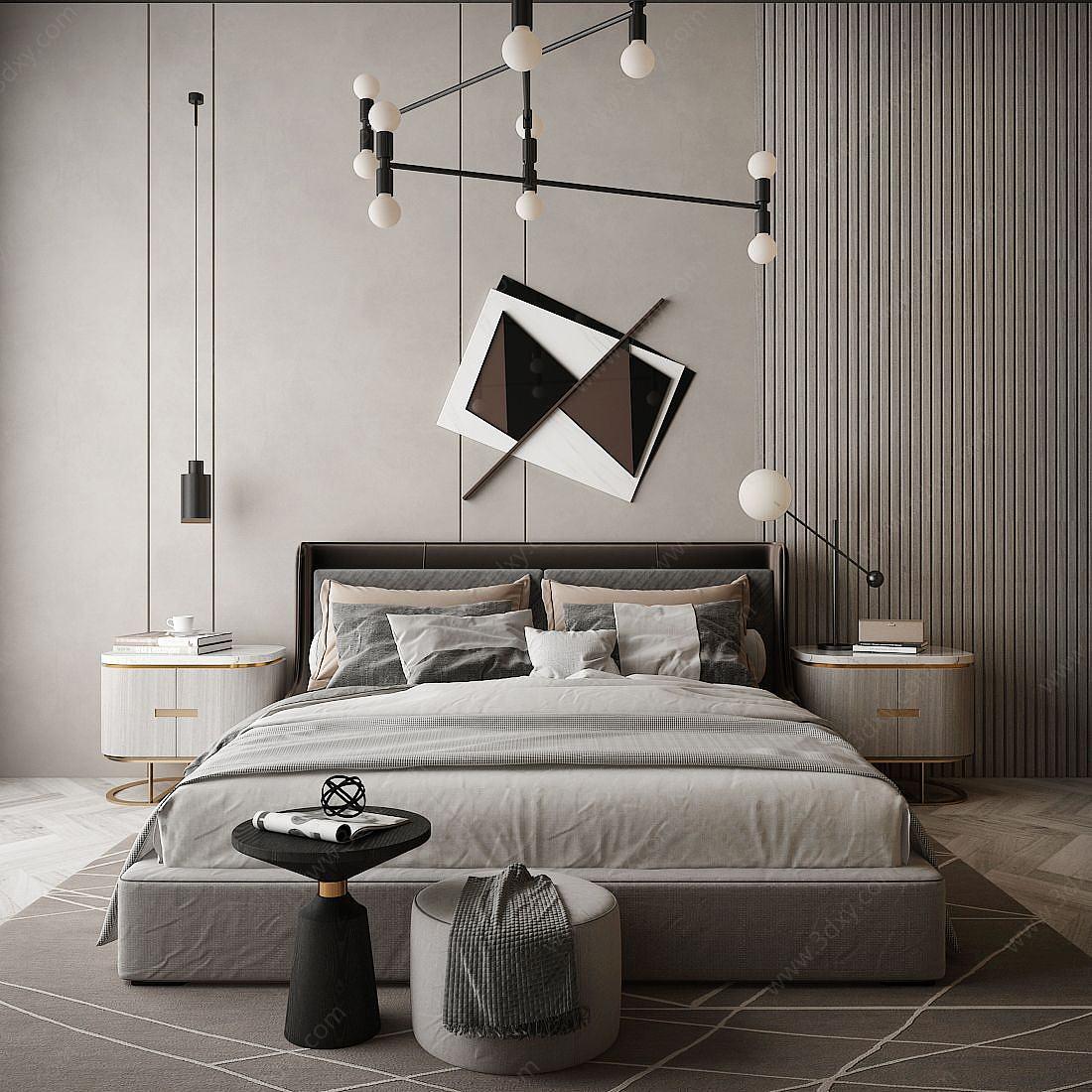 臥室雙人床
