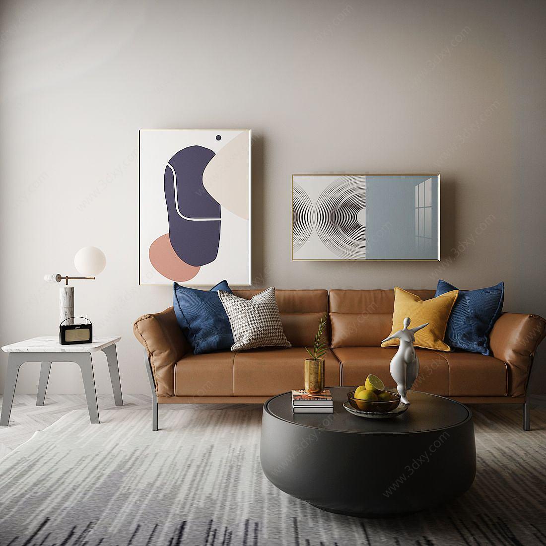 家具飾品組合休閑沙發