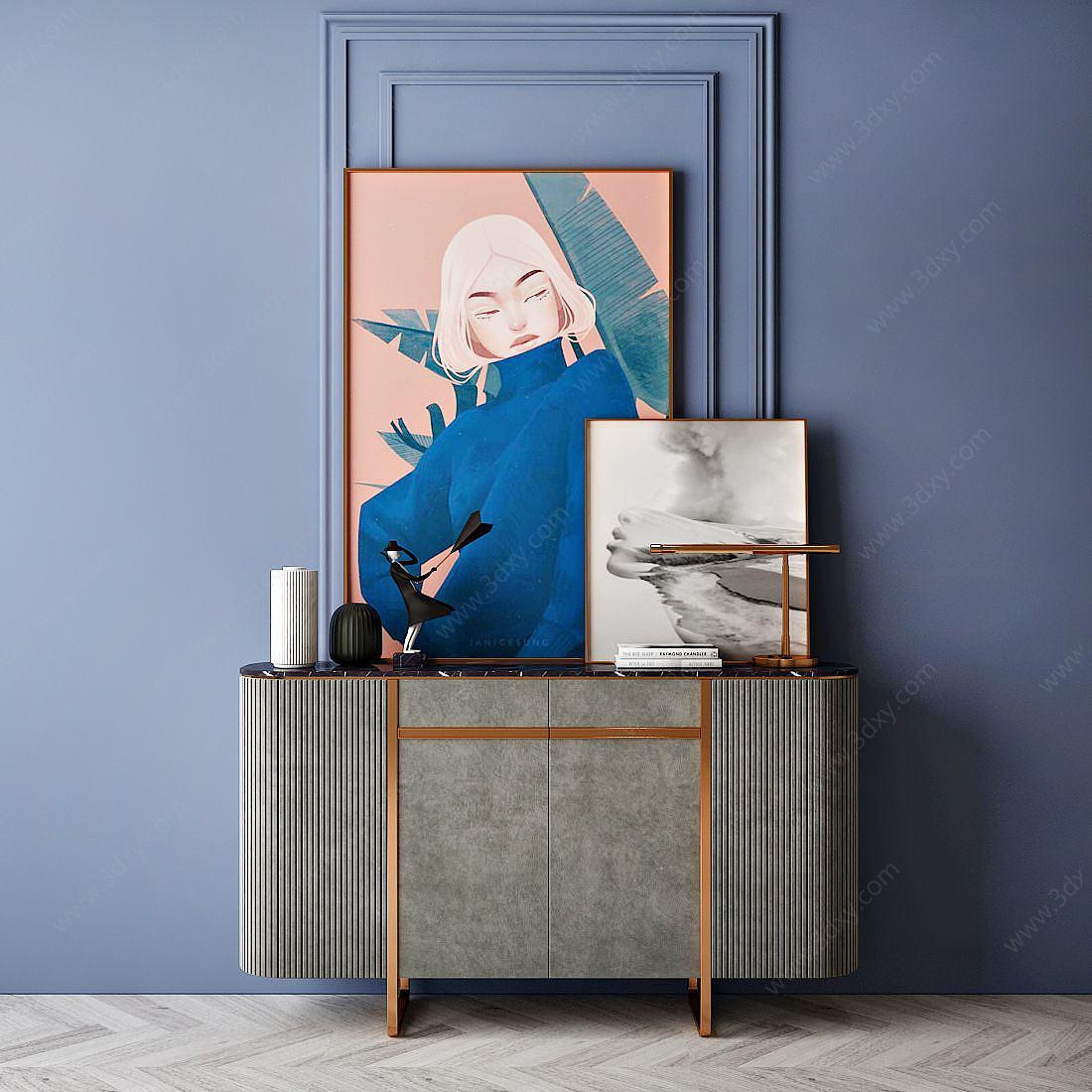 家具飾品組合裝飾柜