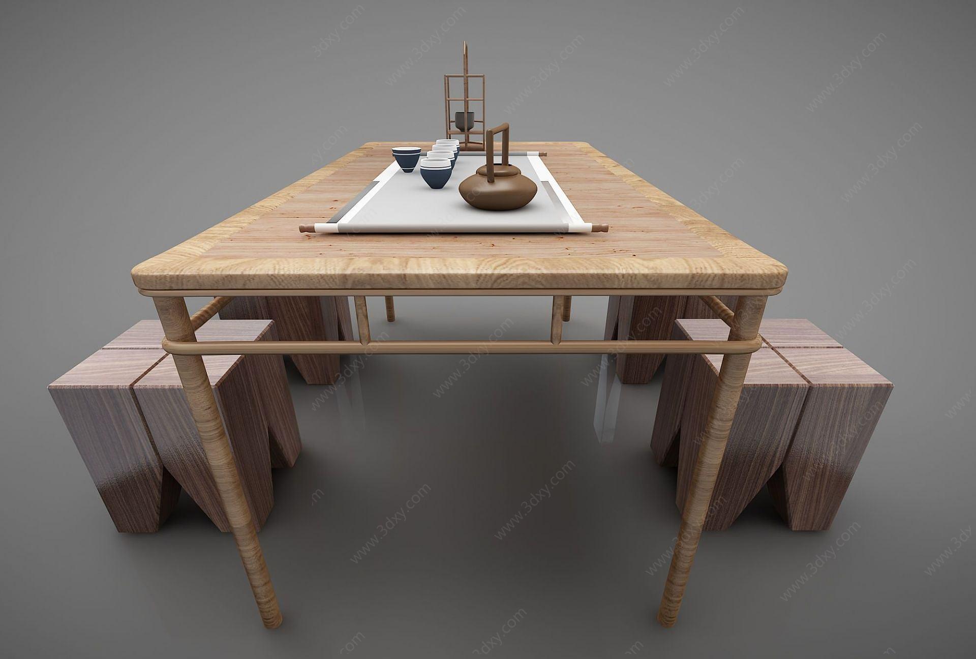 現代風格茶桌椅