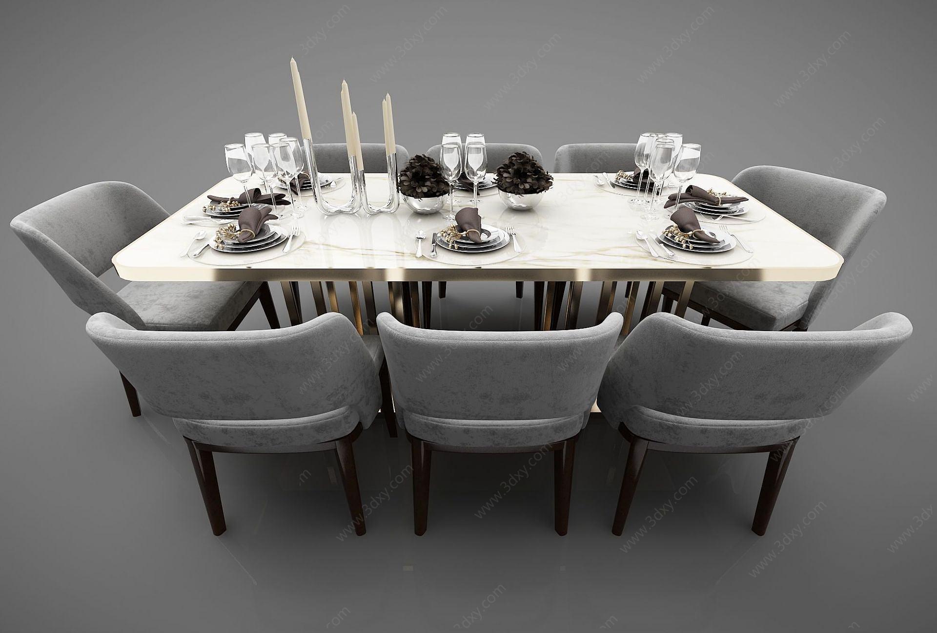 現代風格餐桌椅