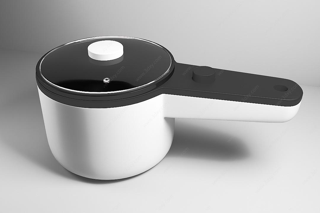 3D小鍋3D模型
