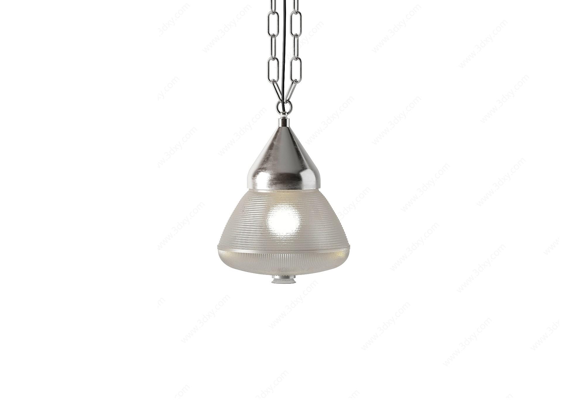 現代小吊燈3D模型
