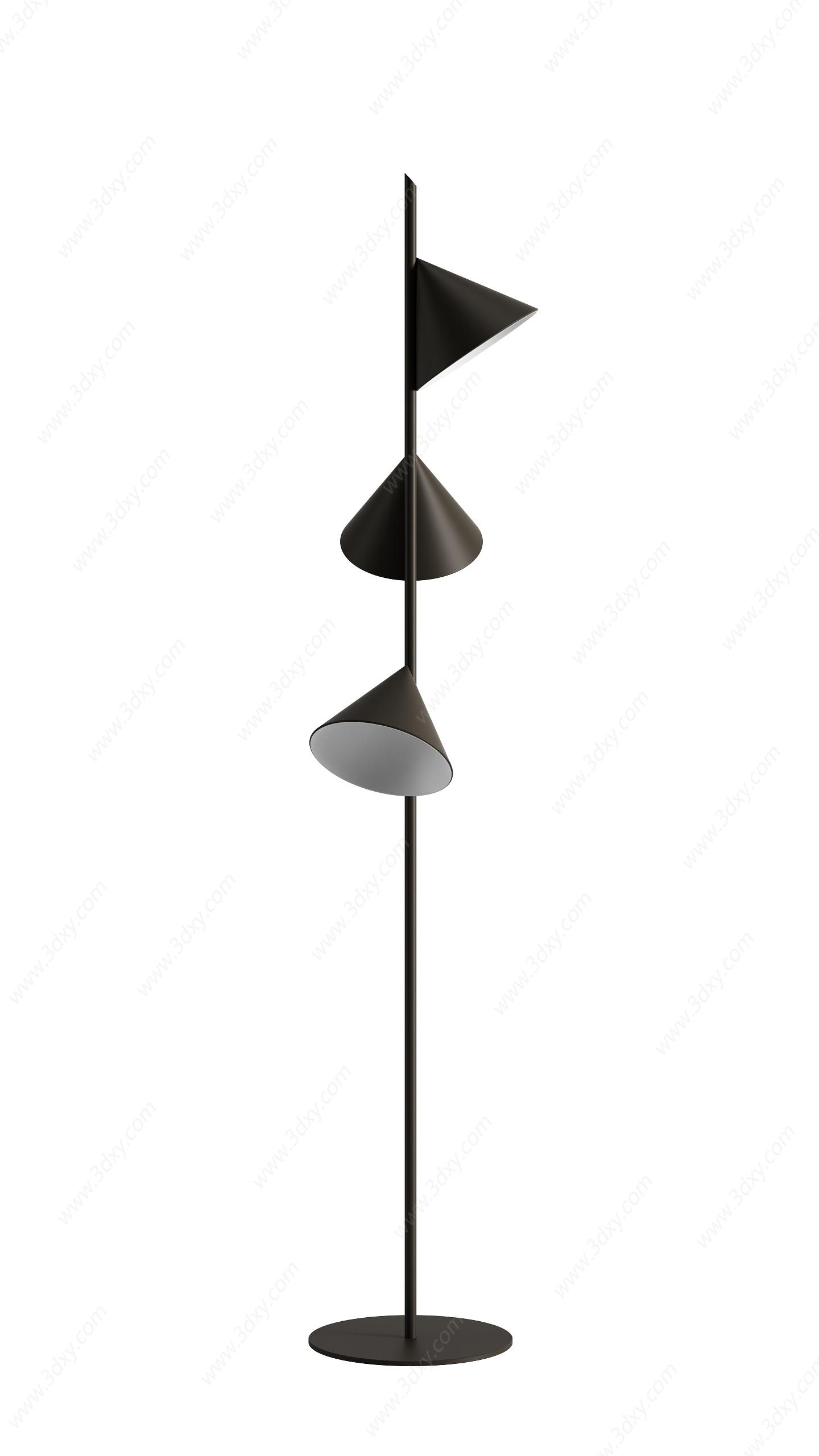 落地燈3D模型