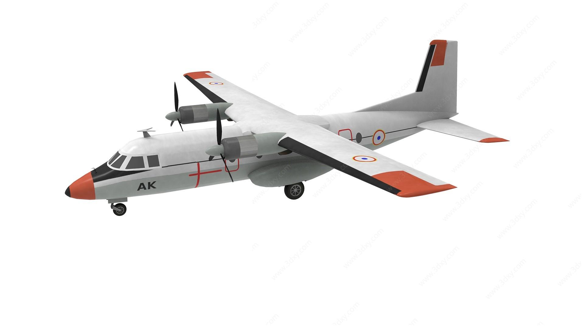 飛機3D模型