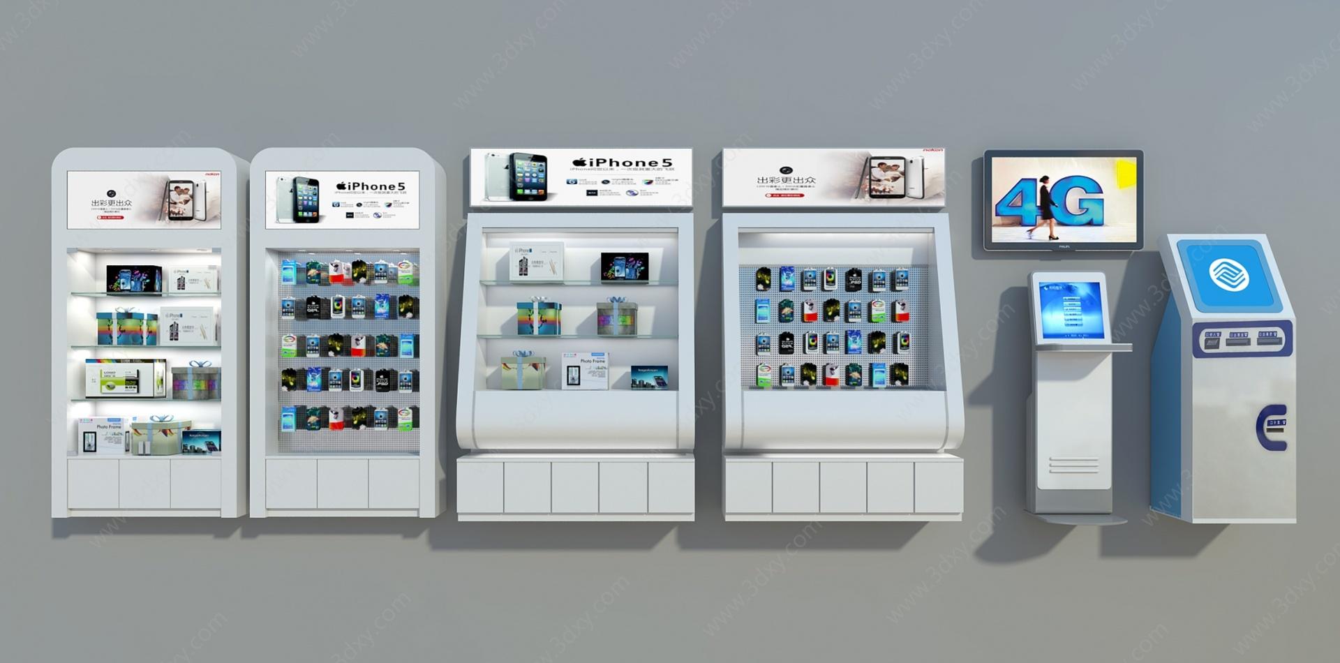 手機配件柜3D模型