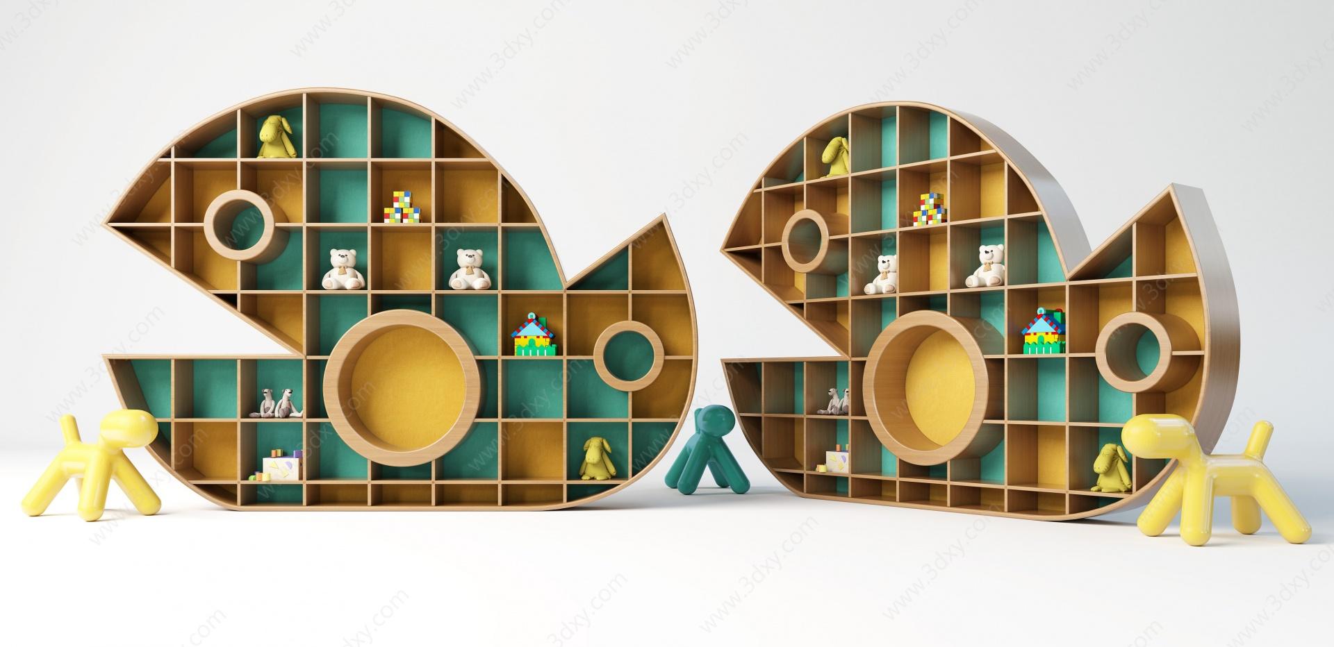 創意柜子3D模型