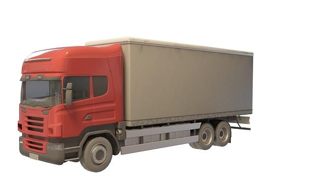 玩具货车 矢量图