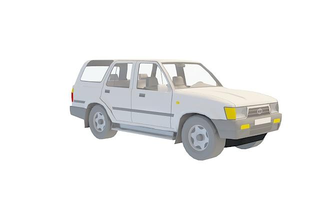丰田越野车3d模型[id2846]下载消耗:1积分