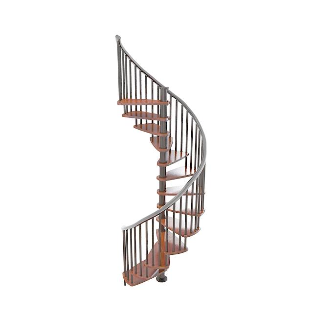3d旋转楼梯模型_旋转楼梯3d模型下载