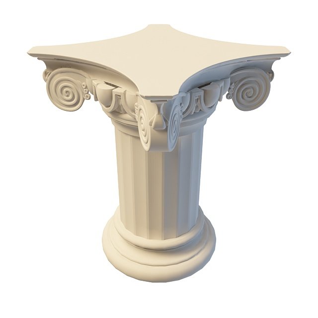 关键词:简欧柱子3d模型欧式柱子3d模型