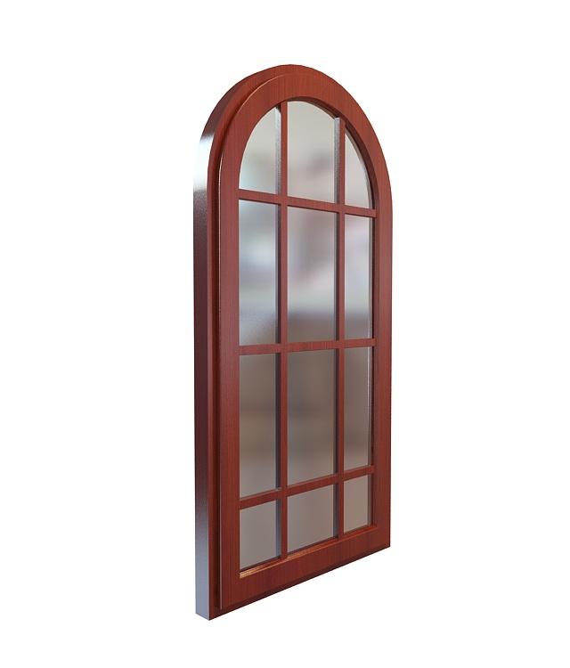 3d欧式田园窗户模型_欧式田园窗户3d模型下载