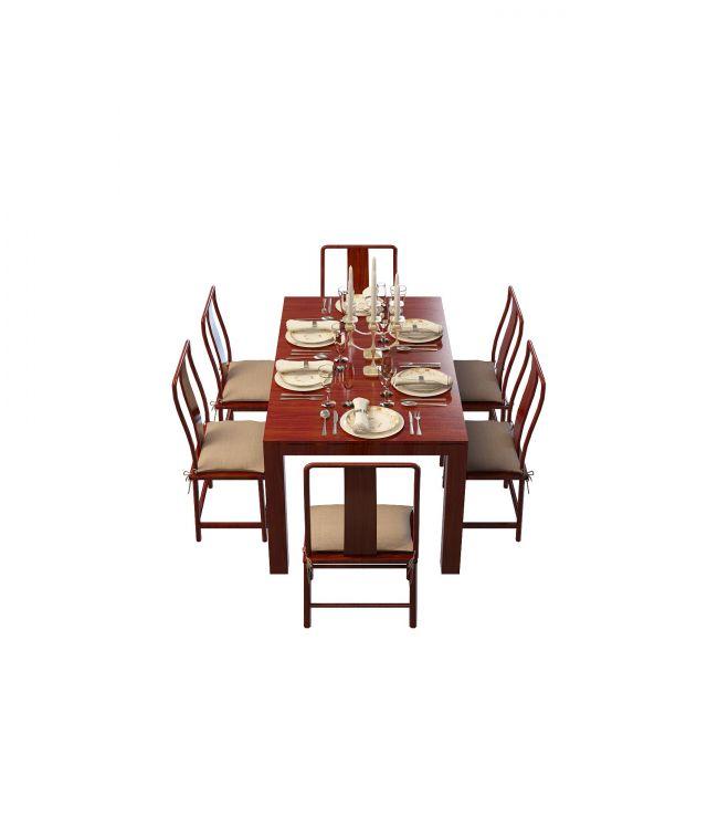 餐厅 餐桌 家具 设计 矢量 矢量图 素材 装修 桌 桌椅 桌子 640_750