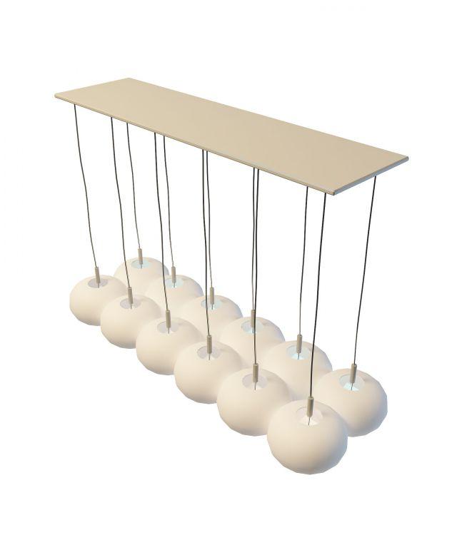 3d餐厅吊灯模型_餐厅吊灯3d模型下载