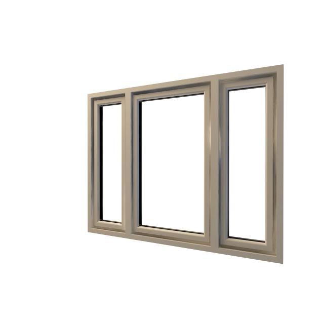 精致窗子模型图片