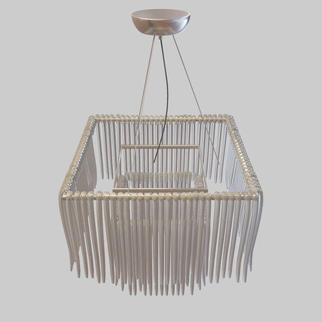 3d水晶装饰吊灯模型_水晶装饰吊灯3d模型下载