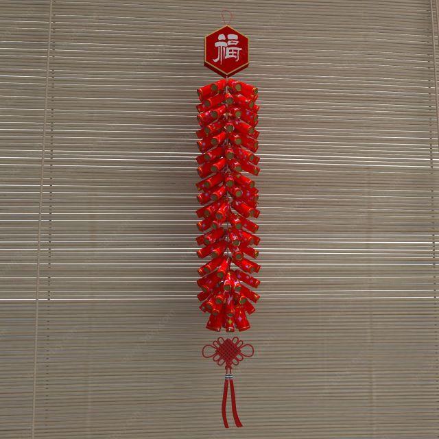 春节鞭炮装饰品