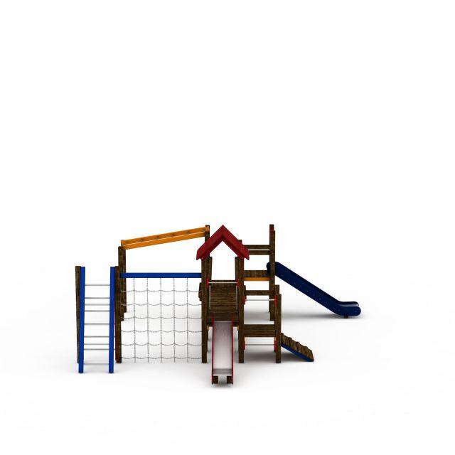 3d儿童滑滑梯模型_儿童滑滑梯3d模型下载
