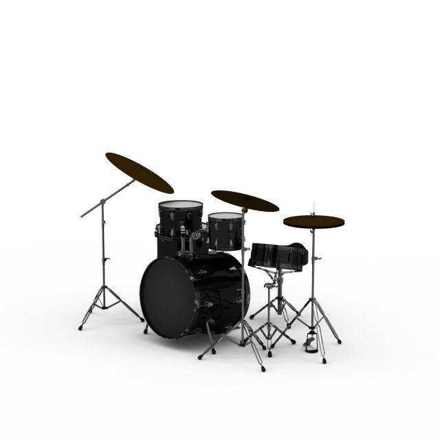 3d架子鼓模型_架子鼓3d模型下载
