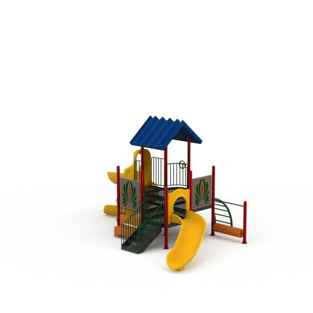 3d儿童滑梯模型_儿童滑梯3d模型下载