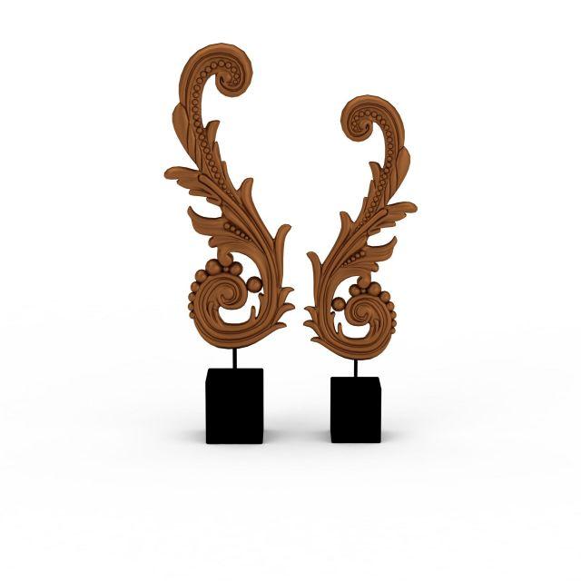 3d东南亚装饰品模型_东南亚装饰品3d模型下载