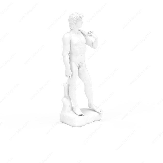 大卫雕塑摆设品