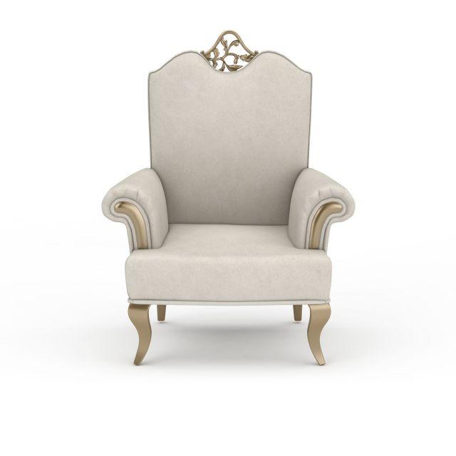 3d欧式白色沙发模型_欧式白色沙发3d模型下载