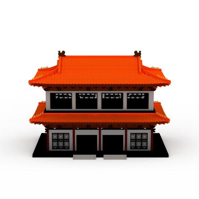 古代宫殿模型,古代宫殿模型下载图片