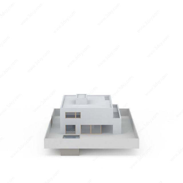 白色豪华房子