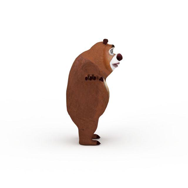 熊二可爱动态图