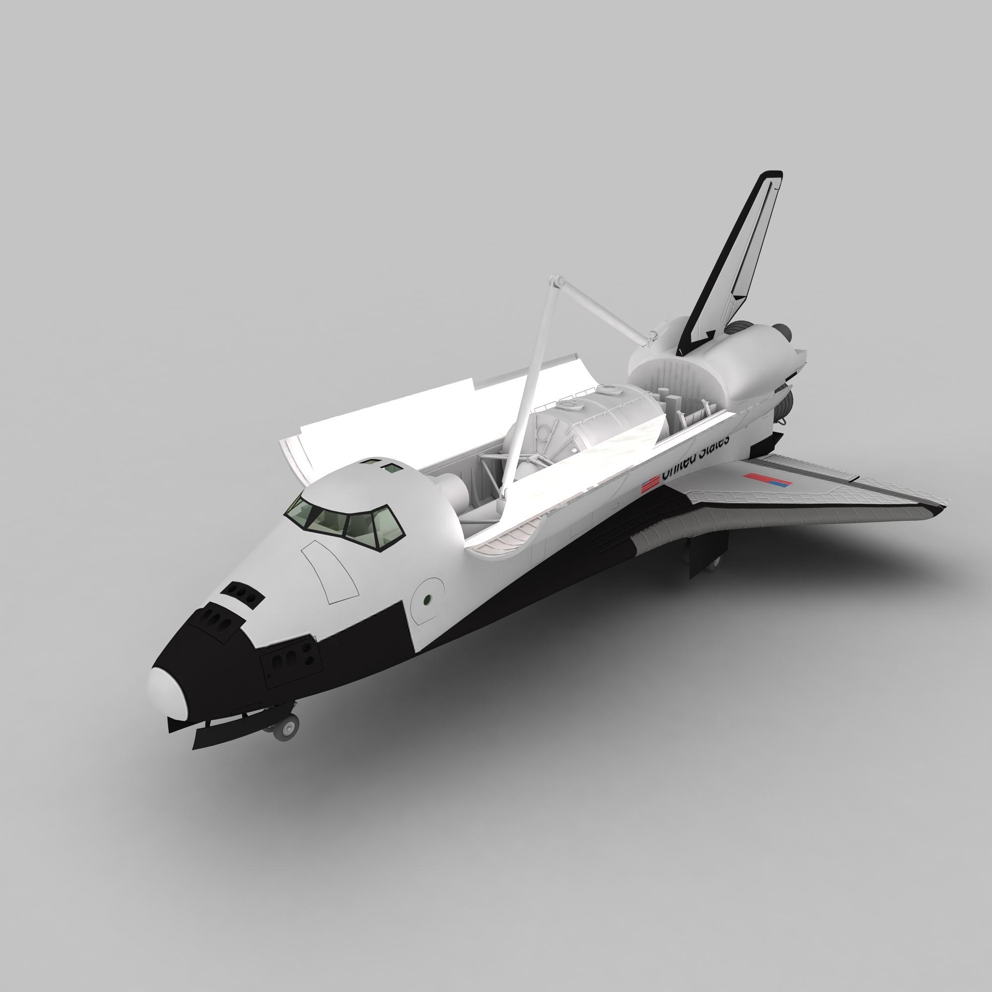 太空航天飞机模型,太空航天飞机模型下载