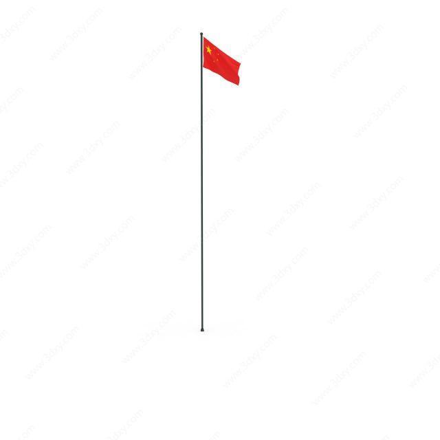 中国国旗旗杆