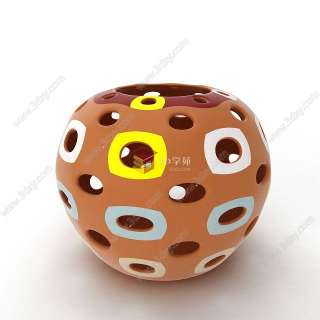 現代精美陶瓷罐子