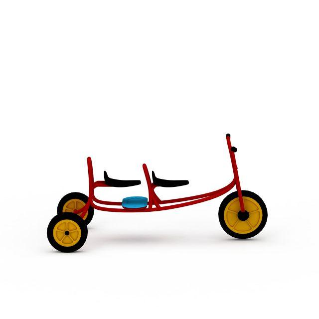 双人小骑车