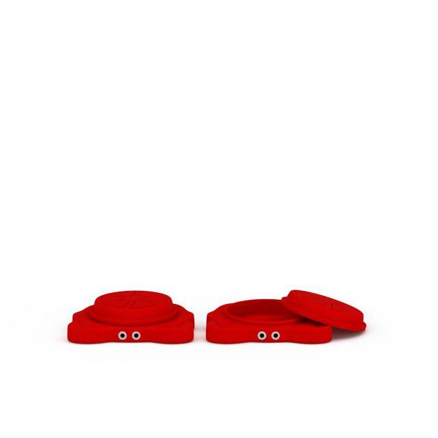 红色螃蟹沙水盘