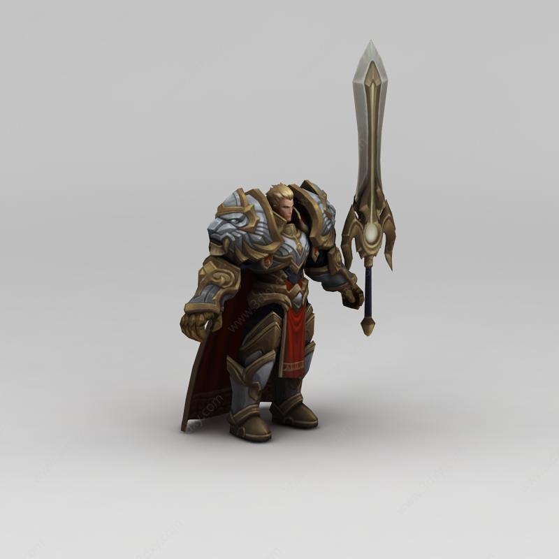 王者荣耀角色道具装备模型