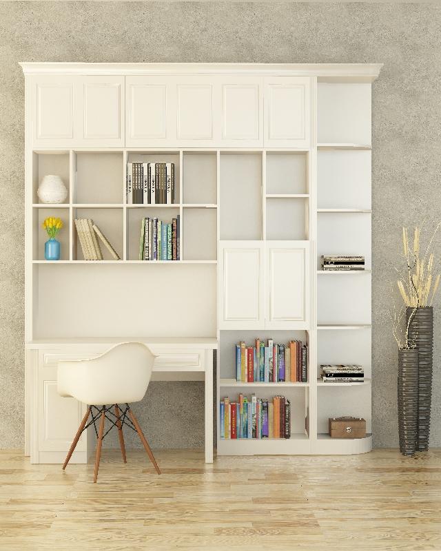 现代简欧精美书柜